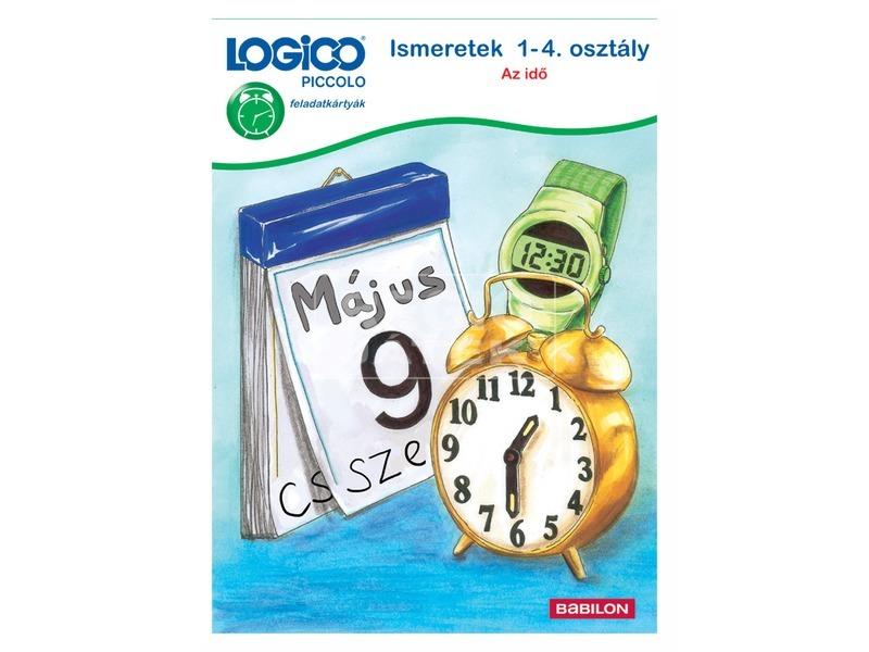 LOGICO Piccolo 3463 Ismeretek 1-4. osztály: Az idő