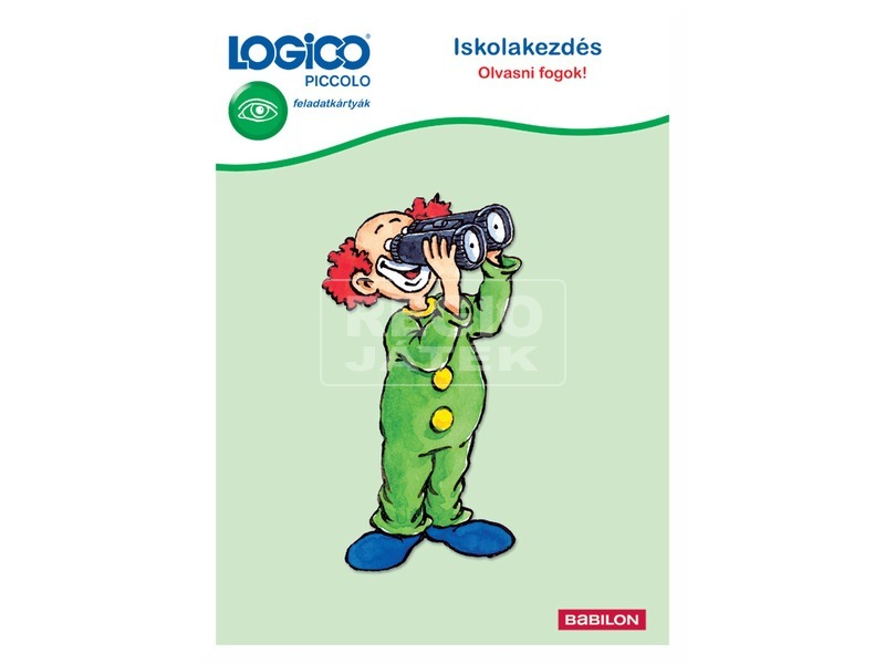 Logico Piccolo iskolakezdés: Olvasni fogok!
