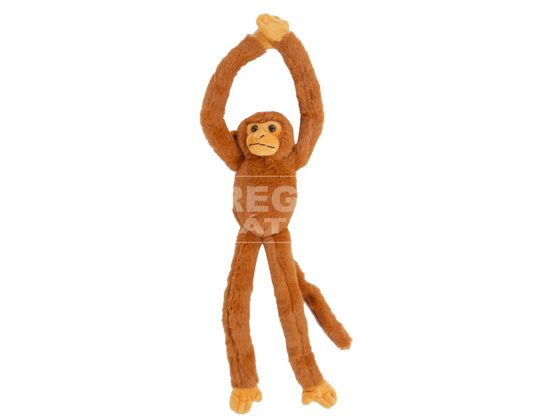 Hosszúkezű majom plüssfigura - 50 cm, többféle