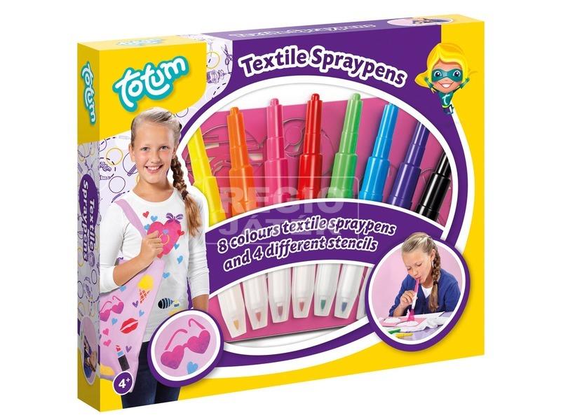 Textil festékszóró toll készlet