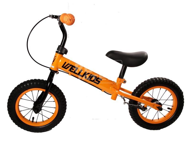 kép nagyítása Fém futóbicikli fékkel - narancssárga-fekete
