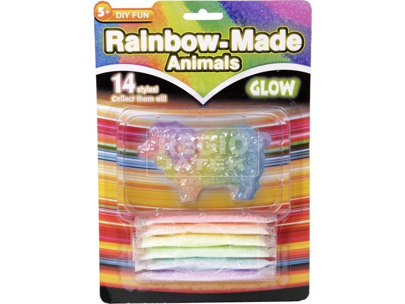 Szivárvány állatok (fluoreszkáló)