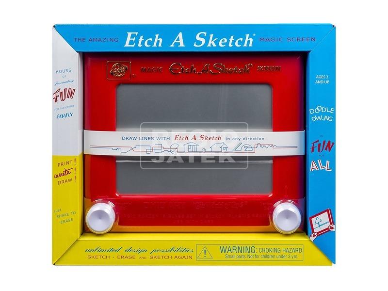 Etch-A-Sketch V2 mágikus rajztábla - 23 x 18 cm