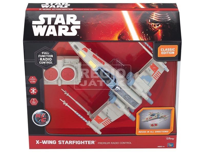 Star Wars: távirányítós X-Wing Fighter - 26 cm
