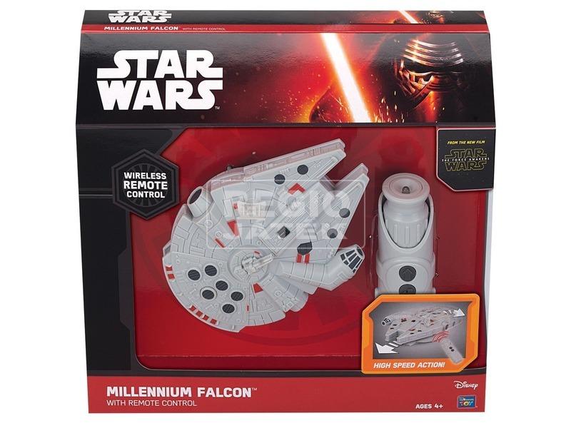 Star Wars: infra távirányítós Millennium Falcon