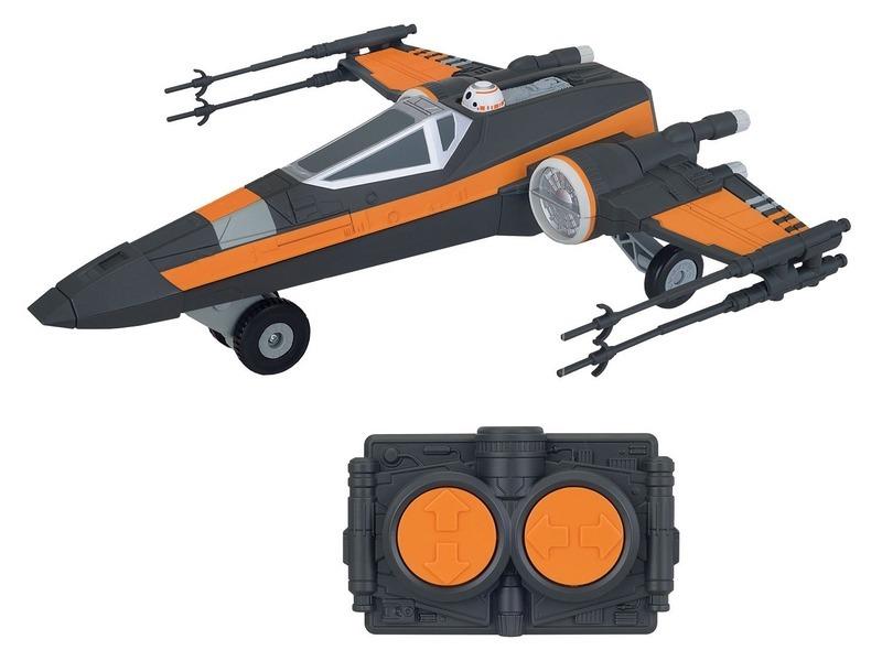 kép nagyítása Star Wars: Az Ébredő Erő távirányítós X-Wing Fighter - 26 cm