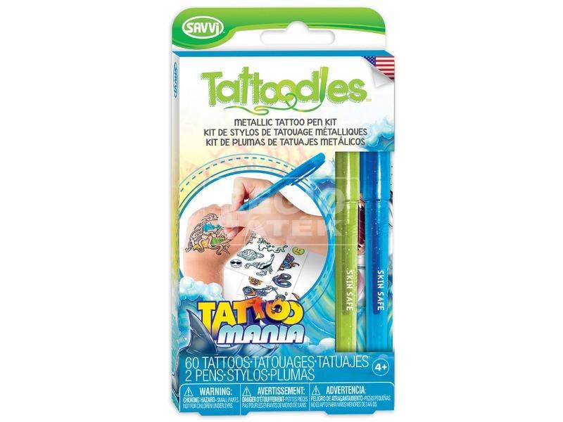 Savvi Tetováló készl. metál tollal fiúknak