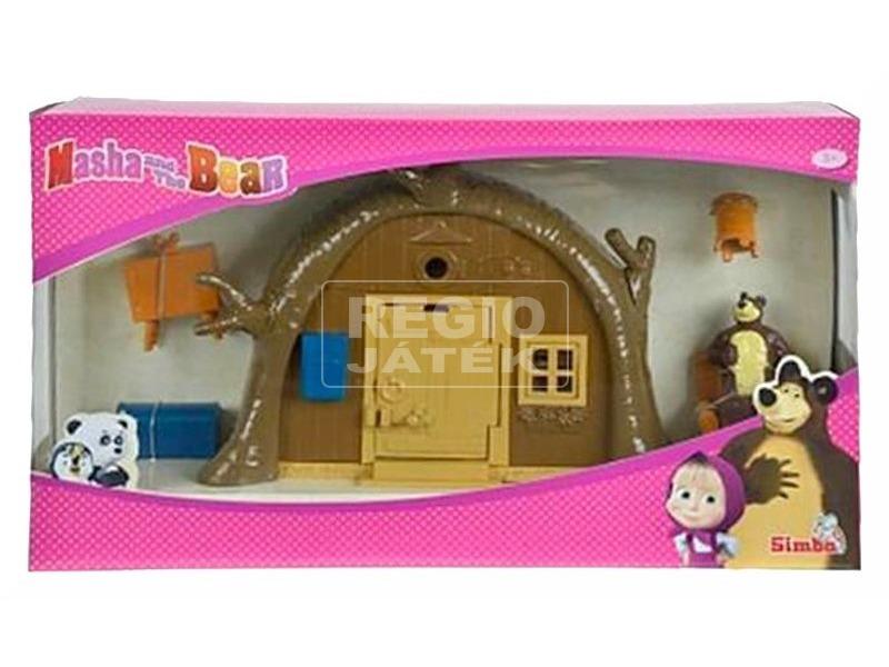 kép nagyítása Masha és a medve mackóház játékkészlet