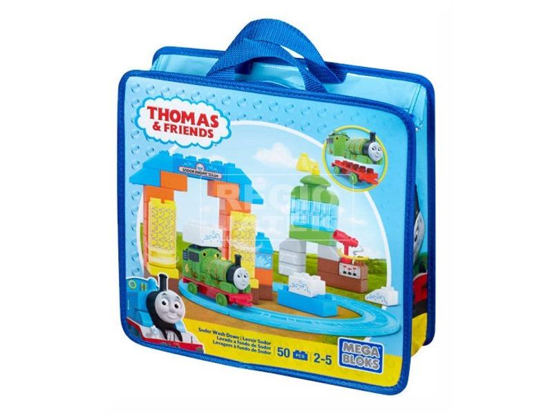 Mega Bloks Thomas vonatkészlet táskában