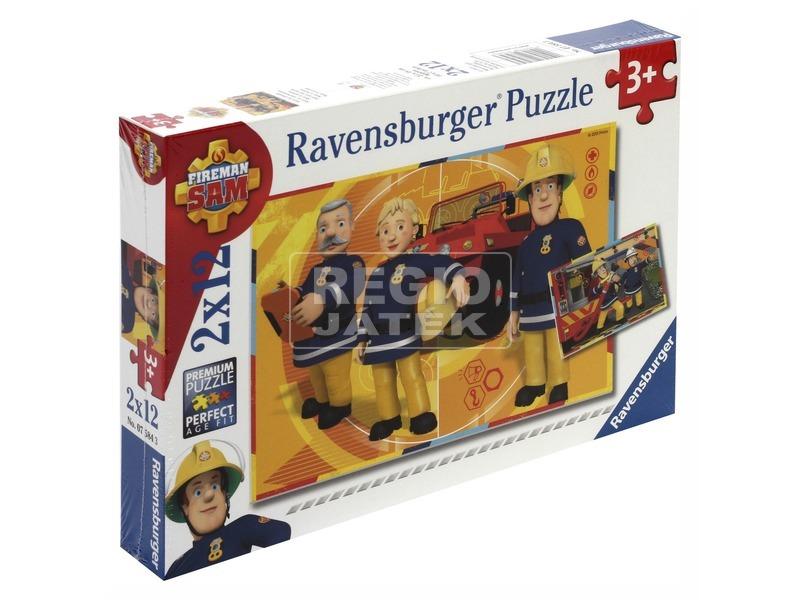 Puzzle 2x12 db - Sam a tűzoltó