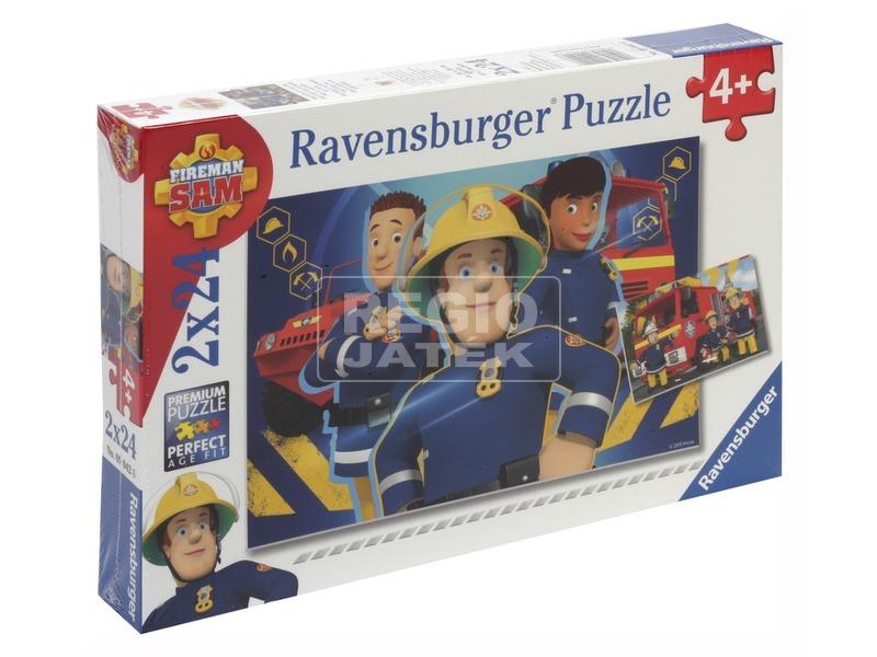 Puzzle 2x24 db - Sam a tűzoltó