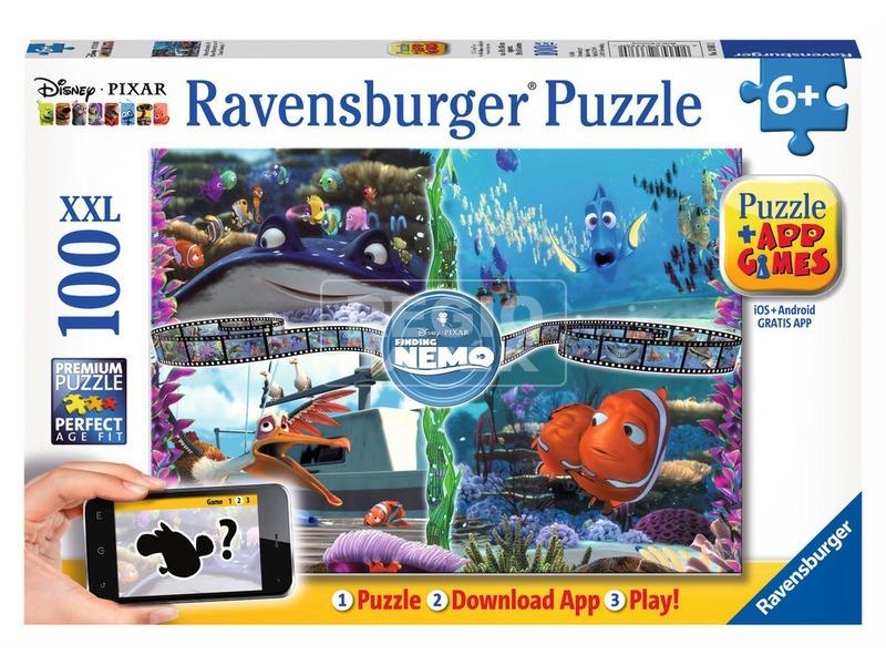 Némó nyomában 100 darabos puzzle