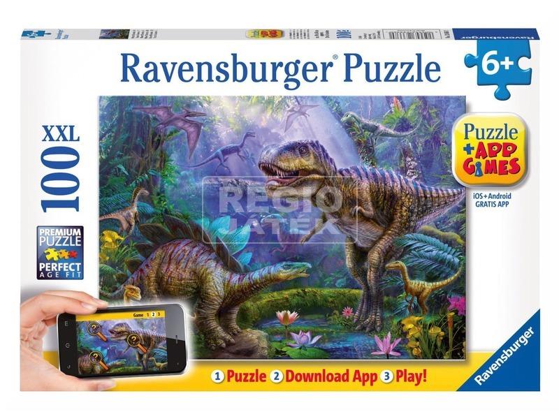 Puzzle 100 db - T-Rex +App