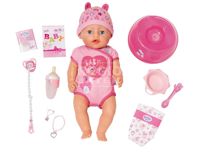 kép nagyítása Baby Born nyolcfunkciós lány baba