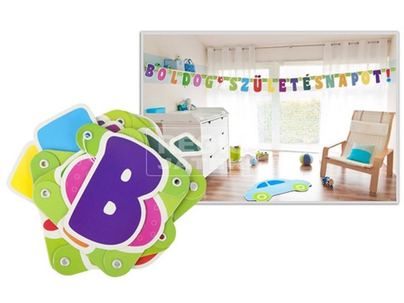 Boldog születésnapot betűfelirat - 1, 6 m