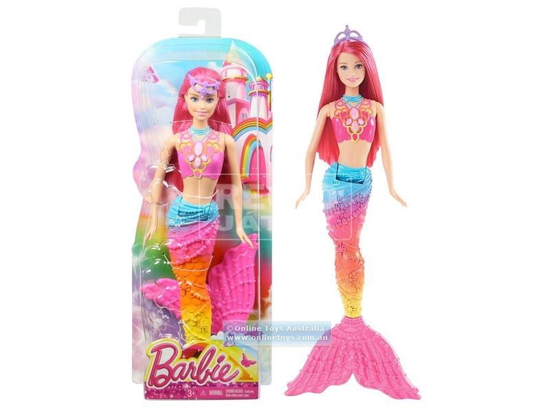 Barbie: Tündérmese sellő - 29 cm, többféle