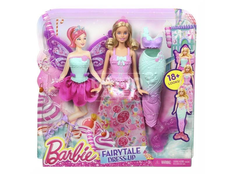 Barbie Tündérmese szett DHC