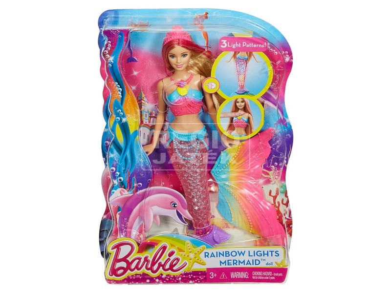 Barbie: Szivárványsellő Barbie