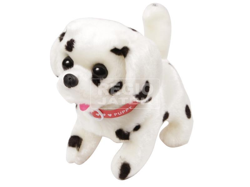 kép nagyítása Dalmata kutya sétáló plüssfigura - 16 cm