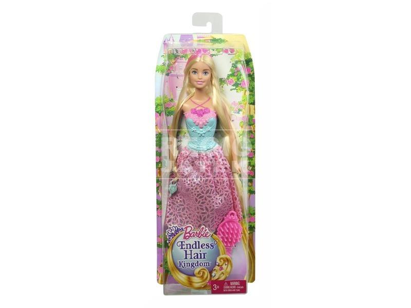 kép nagyítása Barbie: Végtelen csodahaj hercegnő - többféle