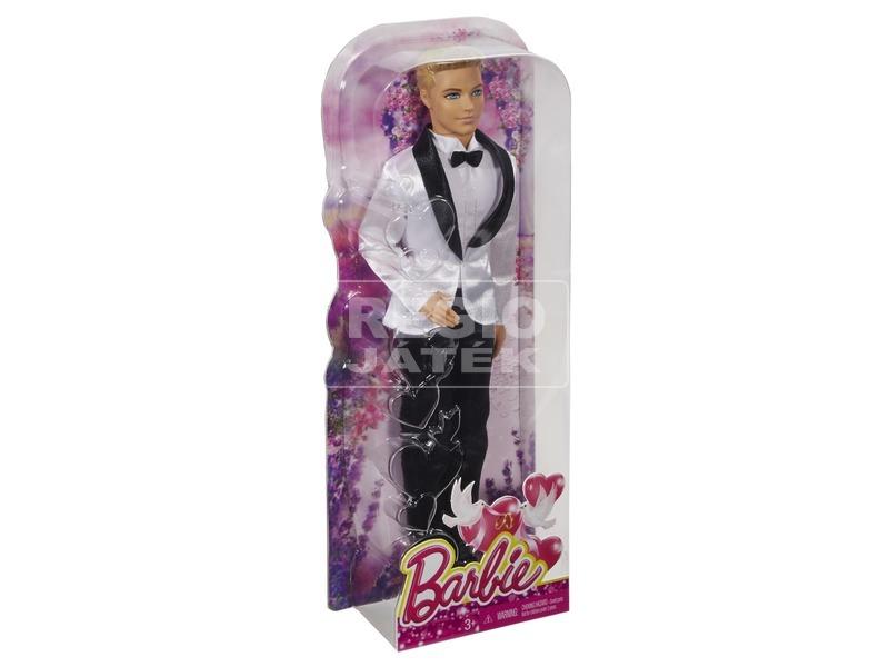 Barbie vőlegény baba DHC