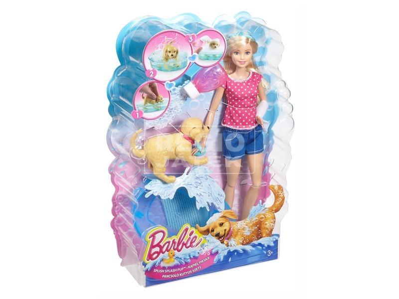 Barbie Pancsoló Kutyus szett DGY