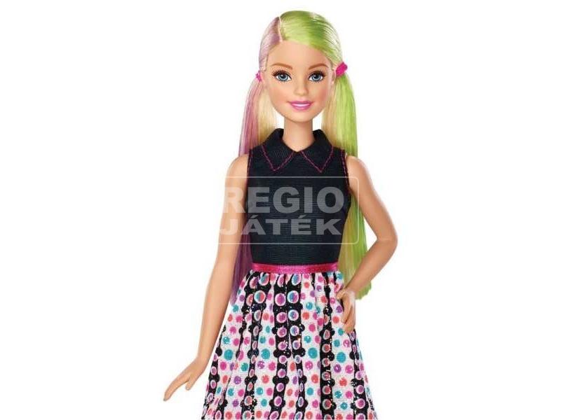 Barbie: Színkeverős csodahaj Barbie - 29 cm