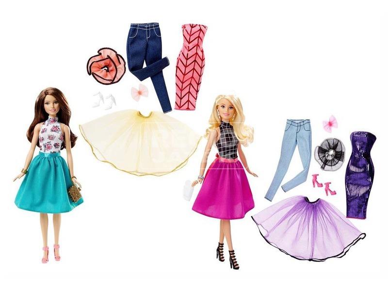 Barbie: Barbie divatos ruhatárral - többféle