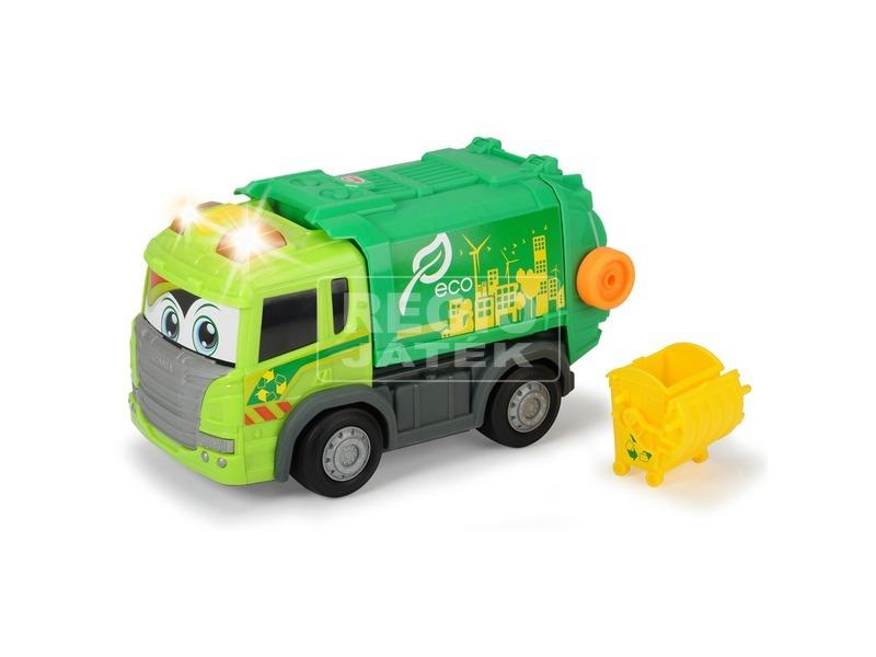 kép nagyítása Dickie Happy Car Scania kukásautó - 25 cm