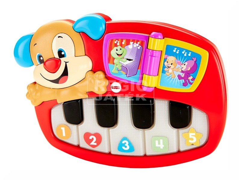 kép nagyítása Fisher-Price kutyusos zongora