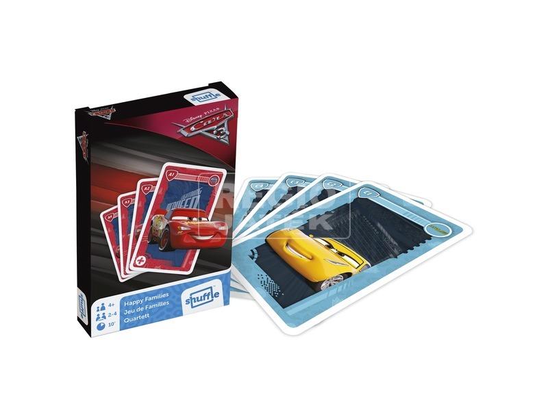 Verdák 3 kvartett és akció kártyajáték