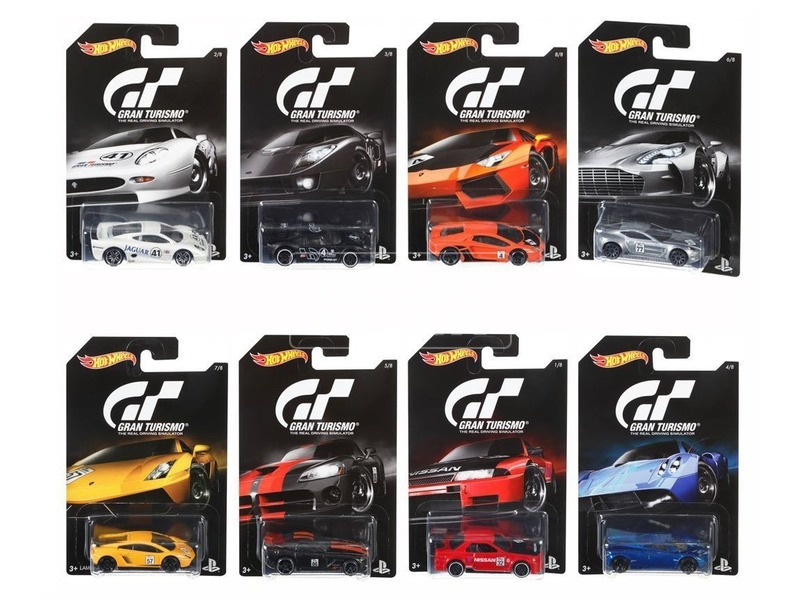 Hot Wheels Grand turismo kisautó DJL