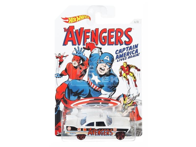 Hot Wheels Marvel Amerika Kapitány 3 kisautó DJK