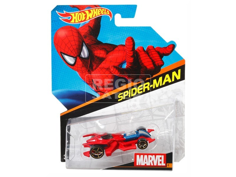 Hot Wheels Marvel karakter kisautó - többféle
