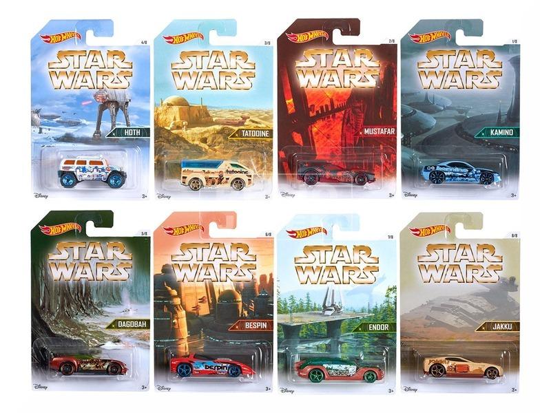 Hot Wheels Star Wars kisautók DJL