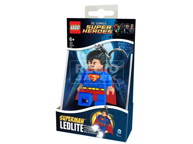 LEGO Super Heroes kulcstartó - Superman
