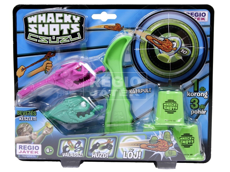 kép nagyítása Whacky Shots Repülő Szörnyek céltáblával