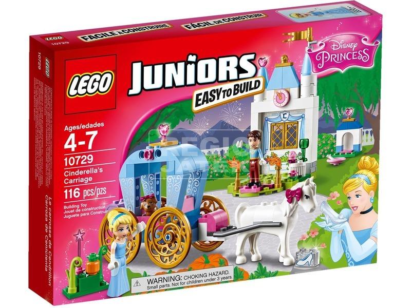 LEGO Juniors Hamupipőke hintója 10729