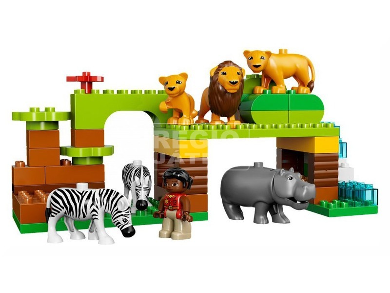 kép nagyítása LEGO® DUPLO A világ körül 10805