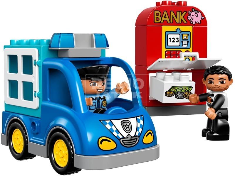 kép nagyítása LEGO® DUPLO Rendőrjárőr 10809