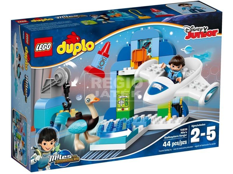 LEGO DUPLO Miles űrhajóhangárja 10826
