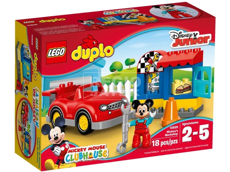 LEGO DUPLO Disney Mickey műhelye 10829