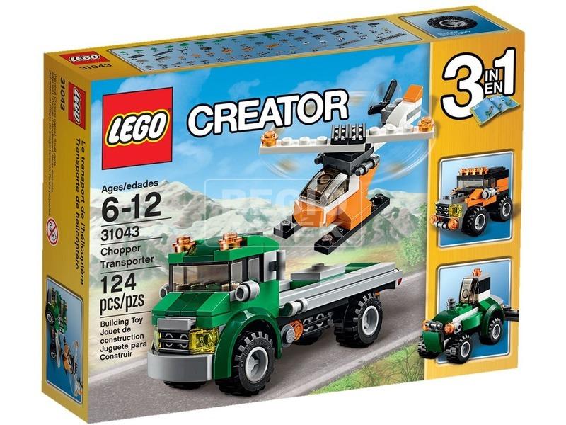 LEGO Creator Helikopterszállító kamion 31043