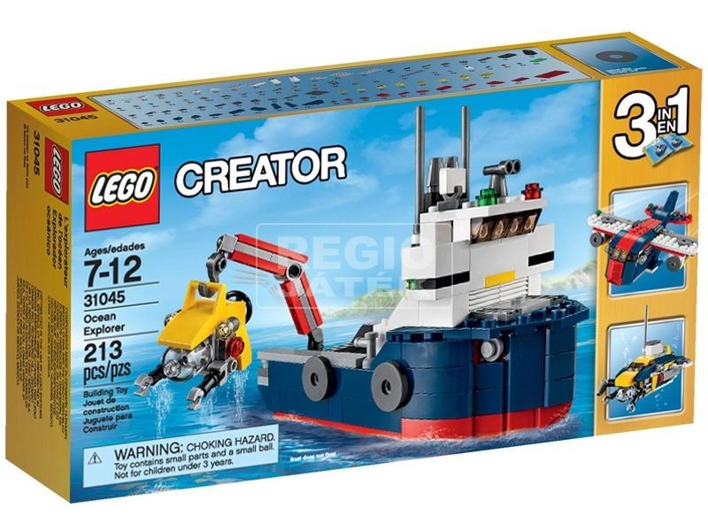 LEGO Creator Tengeri kutatóhajó 31045