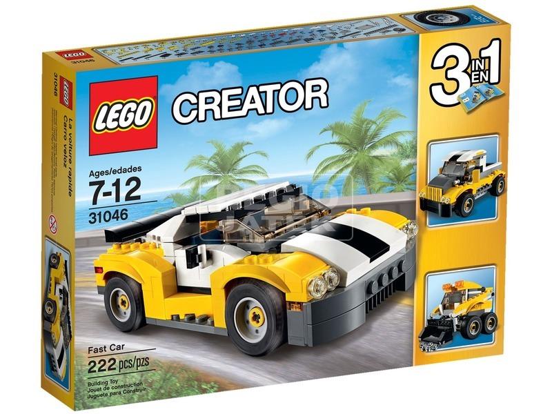 LEGO Creator Gyorsasági autó 31046