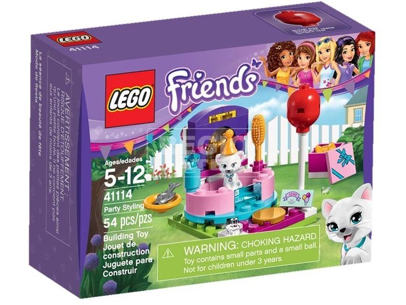 LEGO Friends Öltözködés a partira 41114