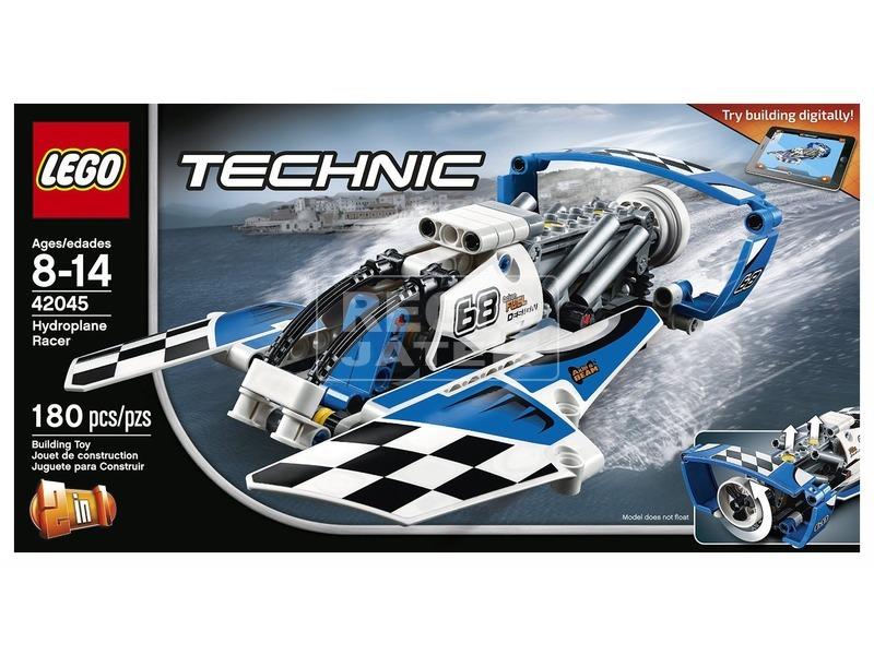 LEGO Technic Verseny hidroplán 42045