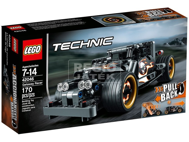 LEGO Technic Menekülő versenyautó 42046