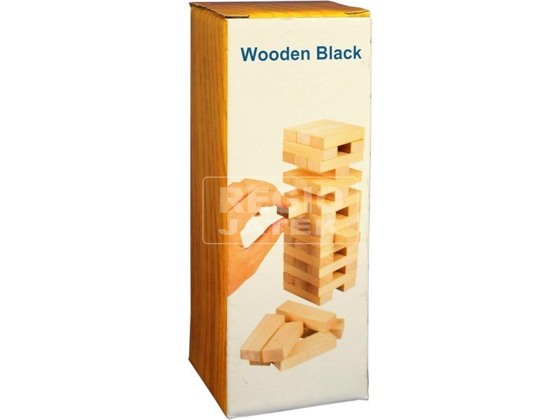 kép nagyítása Natúr fa torony társasjáték