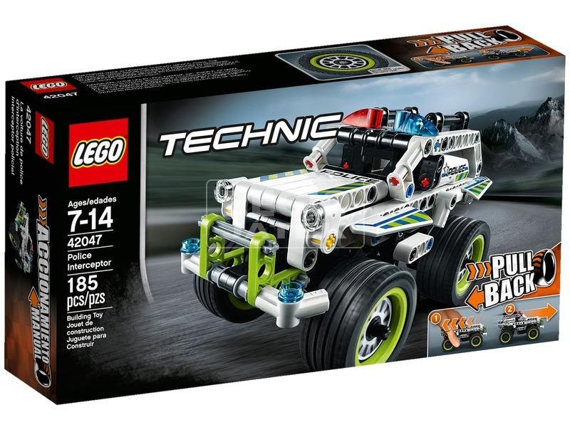 LEGO Technic Rendőrségi elfogó jármű 42047